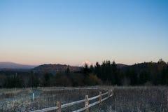 Красота горы Стоковое фото RF