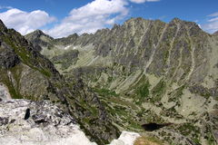 Красота гор Стоковое Фото