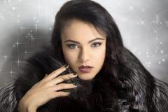Красота женщины совершенная Стоковое Изображение RF