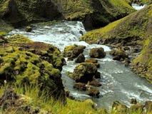 Красота Исландии стоковые изображения