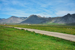 Красота Исландии Стоковая Фотография RF