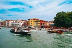 Красота Италии Венеции Стоковые Изображения RF