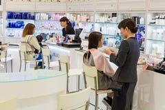 Красота и косметический магазин в Японии Стоковые Изображения RF