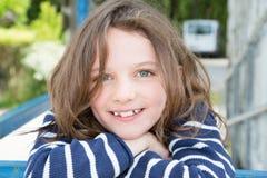 Красота и невиновность девушки ребенка концепции детства милой стоковое изображение rf