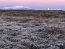 Красота круга Исландии золотого стоковые изображения