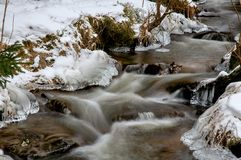 Красота льда Стоковое фото RF