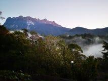 Красота национального парка Mount Kinabalu, Сабаха Борнео стоковое изображение rf
