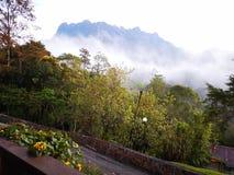 Красота национального парка Mount Kinabalu, Сабаха Борнео стоковые изображения rf