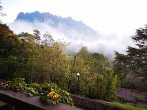 Красота национального парка Mount Kinabalu, Сабаха Борнео стоковое изображение