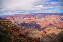Красота национального парка гранд-каньона Стоковые Фото