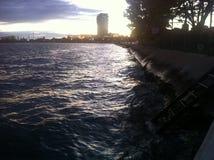 Красота на фронте гавани Стоковое фото RF