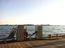Красота на фронте гавани Стоковое Изображение RF