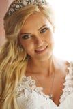Красота невесты неимоверная стоковое изображение rf