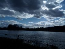Красота облаков Стоковые Фото