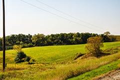 Красота от дороги гравия Стоковое фото RF