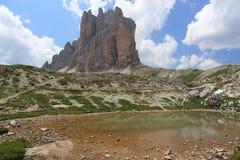 Красота доломитов Стоковые Фотографии RF