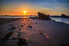 Красота пляжа Kiamsam несравнена, остров Labuan Стоковые Изображения