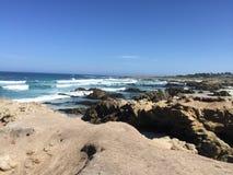Красота пляжа привода 17 миль Стоковая Фотография RF