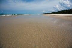 Красота пляжа Tok Бали Стоковое Изображение RF