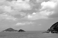 Красота пляжей Рио-де-Жанейро Стоковое Фото