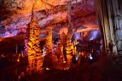 Красота сталактита Стоковое Изображение