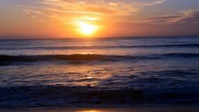 Красота утра пляжа Стоковое фото RF