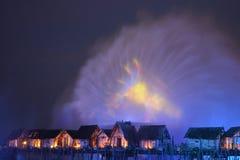 Красота фейерверков Стоковое Фото