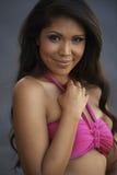 Красота Latina в бикини стоковое фото rf