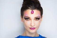 Красота oriental женщины Стоковые Изображения RF