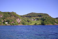 Красота Scandinawia Стоковое Изображение