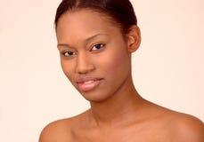 красотка афроамериканца Стоковые Изображения RF