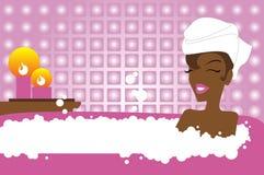 красотка ванны Стоковое Фото