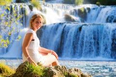 Красотка водопада Стоковое Фото