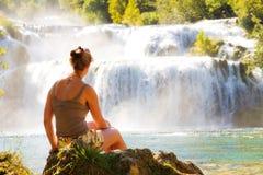 Красотка водопада Стоковая Фотография