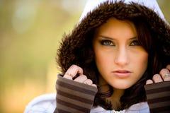 Красотка зимы Стоковое фото RF