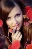 красотка осени Стоковые Фотографии RF
