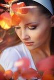 красотка осени Стоковые Фото