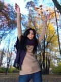 красотка осени Стоковое Изображение RF