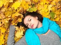 красотка осени Стоковое фото RF