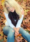 красотка осени Стоковая Фотография