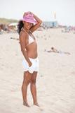 красотка пляжа Стоковое фото RF