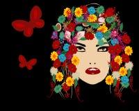 красотка флористическая Стоковые Фото