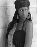 красотка эфиопская Стоковое Фото