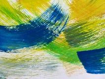 Красочная абстрактная акварель Стоковые Изображения