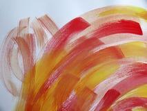Красочная абстрактная акварель Стоковая Фотография