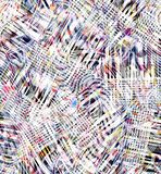 Красочная абстрактная безшовная акварель для предпосылки иллюстрация штока