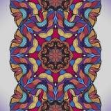 Красочная абстрактная безшовная картина вектора. Стоковое Фото