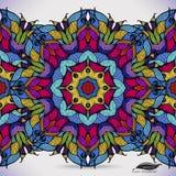 Красочная абстрактная безшовная картина вектора. Стоковое Изображение RF