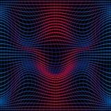 Красочная абстрактная линия картина волны безшовная Текстура с волнистыми, billowy линиями для ваших дизайнов бесплатная иллюстрация