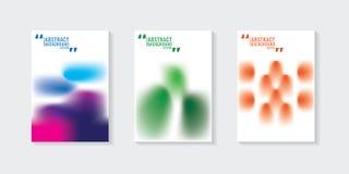 Красочная абстрактная предпосылка градиента шаблон ресторана конструкции принципиальной схемы Вектор i Стоковая Фотография RF